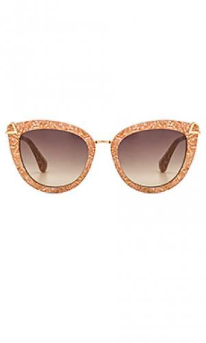 Солнцезащитные очки melrose Sonix. Цвет: розовый