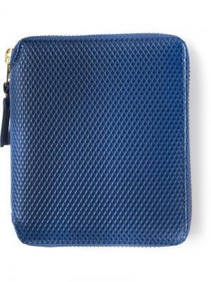 Классический кошелек Comme Des Garçons Wallet. Цвет: синий