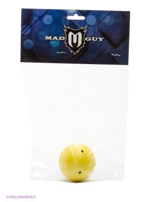 Мяч для смарт-хоккея тренировочный MAD GUY. Цвет: желтый