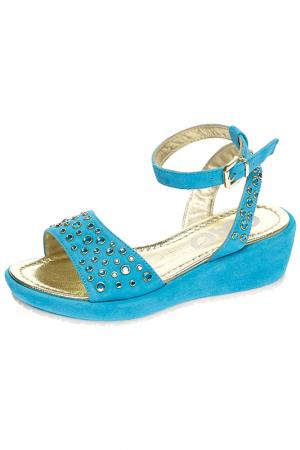 Босоножки Ciao Bimbi. Цвет: голубой