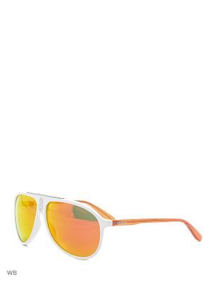 Солнцезащитные очки CARRERA 6015S N7P. Цвет: белый, оранжевый