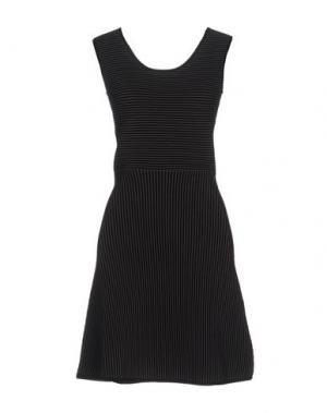 Короткое платье J. LINDEBERG. Цвет: серый