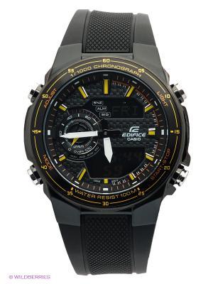 Часы EDIFICE EFA-131PB-1A CASIO. Цвет: черный