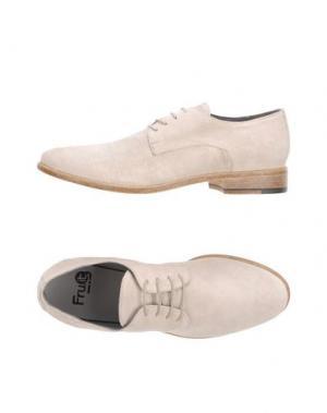Обувь на шнурках FRU.IT. Цвет: слоновая кость
