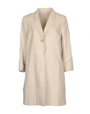 Легкое пальто PUROTATTO. Цвет: светло-серый