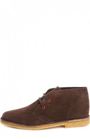 Ботинки OnlyOne. Цвет: темно-коричневый