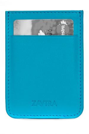 Кошелек ZAVTRA. Цвет: голубой