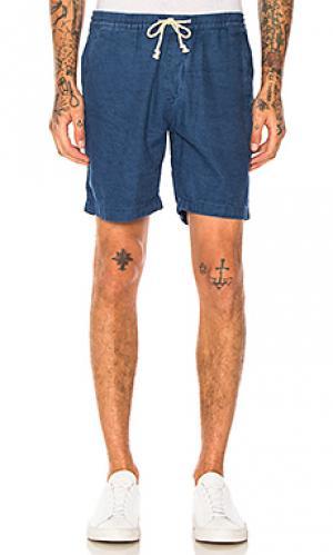 Джинсовые шорты riley Deus Ex Machina. Цвет: none