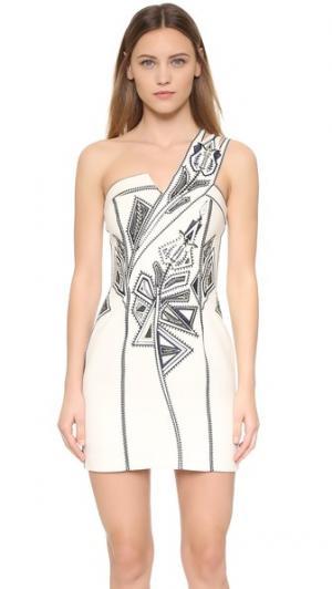 Платье Blackest Lava sass & bide. Цвет: золотой