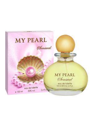 Туалетная вода Май Перл Сенсуал (My Pearl sensual) жен. 100ml SERGIO NERO. Цвет: прозрачный