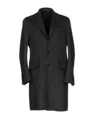 Пальто U-NI-TY. Цвет: стальной серый