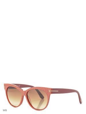 Солнцезащитные очки FT 0330 77G Tom Ford. Цвет: красный, фуксия