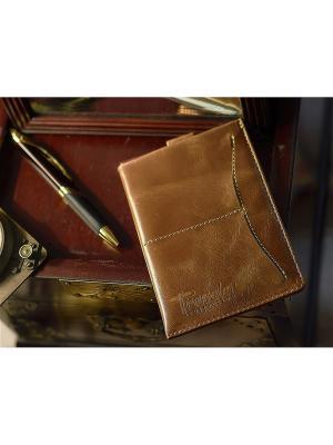 Обложка паспорта Вектор. Цвет: светло-коричневый