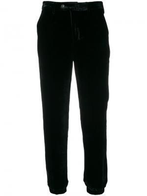 Укороченные прямые брюки Pt01. Цвет: чёрный