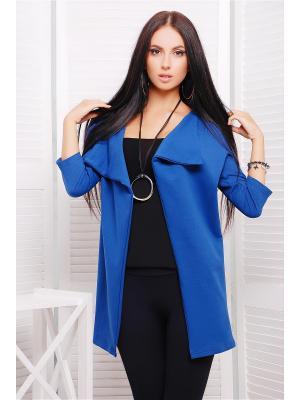 Кардиган Fashion Up. Цвет: синий