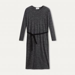 Платье KZ284 POMANDERE. Цвет: серый