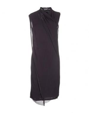 Платье до колена NICOLAS & MARK. Цвет: фиолетовый