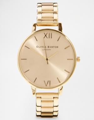 Olivia Burton Золотистые наручные часы OB13BL08BS. Цвет: золотой