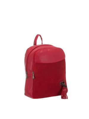 Рюкзак 5752A искусственная кожа Sofiya. Цвет: красный