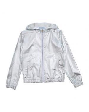 Куртка MIMISOL. Цвет: серебристый