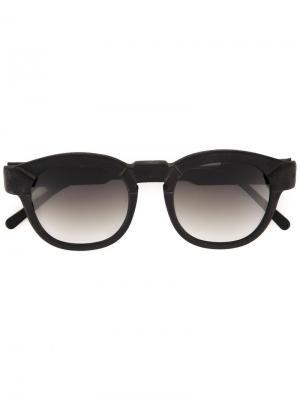 Солнцезащитные очки K17 Kuboraum. Цвет: чёрный