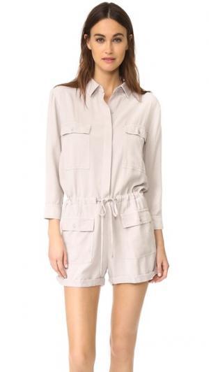 Комбинезон YFB Clothing Leone Young Fabulous & Broke. Цвет: серый
