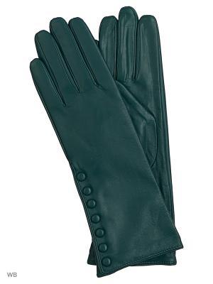 Перчатки женские Marco Bonne`. Цвет: морская волна