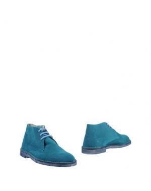 Полусапоги и высокие ботинки WEG. Цвет: цвет морской волны