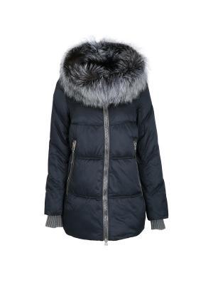 Куртка Snow Guard. Цвет: синий