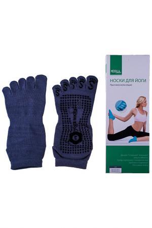 Носки для йоги Medolla. Цвет: серый