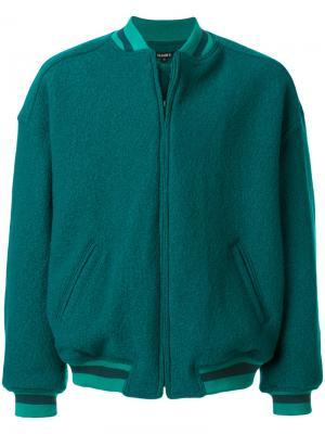 Куртка-бомбер мешковатого кроя Yeezy. Цвет: синий