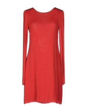 Короткое платье MARIAGRAZIA PANIZZI. Цвет: красный