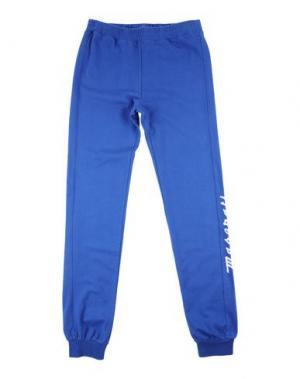 Повседневные брюки MASERATI. Цвет: синий