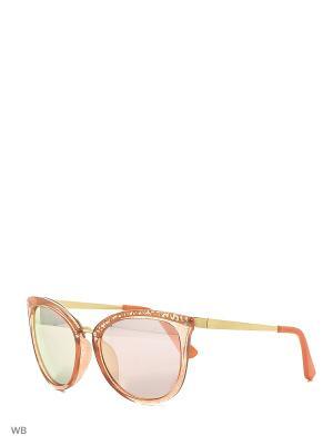 Солнцезащитные очки Vittorio Richi. Цвет: оранжевый, золотистый