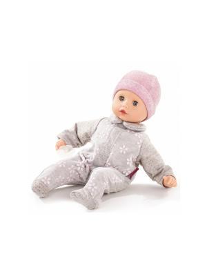 Кукла Маффин, без волос GOTZ. Цвет: розовый, серый