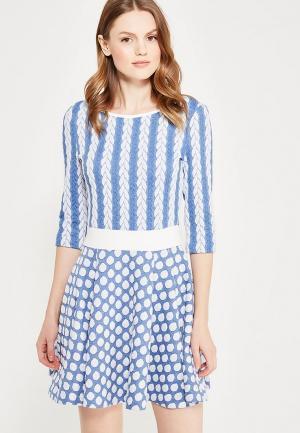 Платье Giulia Rossi. Цвет: голубой