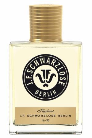 "Парфюмерная вода 1A-33 ""Дух Берлина"" 50ml J.F. Schwarzlose Berlin. Цвет: без цвета"