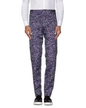 Повседневные брюки JIL SANDER. Цвет: розовато-лиловый