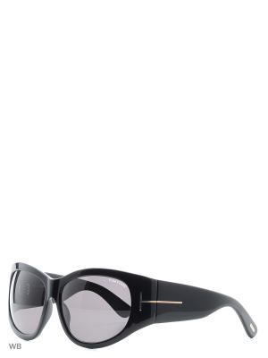 Солнцезащитные очки FT 0404 01A Tom Ford. Цвет: черный