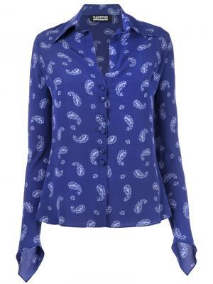 Рубашка Gunsn Rockins. Цвет: синий
