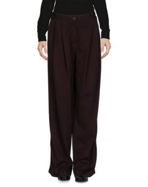 Повседневные брюки IVORIES. Цвет: красно-коричневый