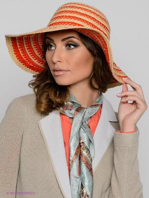 Шляпа SEEBERGER. Цвет: оранжевый, бежевый