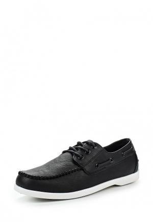 Топсайдеры WS Shoes. Цвет: черный