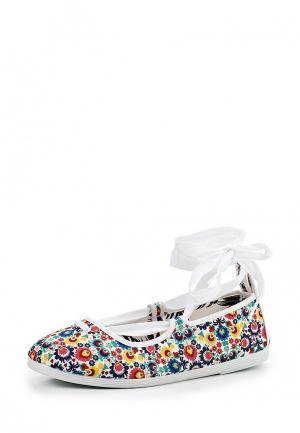Туфли Flossy Style. Цвет: разноцветный