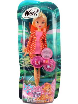 Кукла Winx Club Красотка, Stella. Цвет: светло-коралловый, светло-желтый, розовый