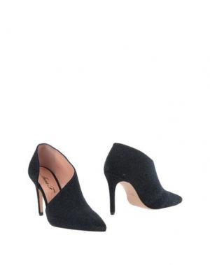 Ботинки ANNA F.. Цвет: темно-синий