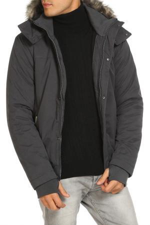 Куртка Bench. Цвет: серый
