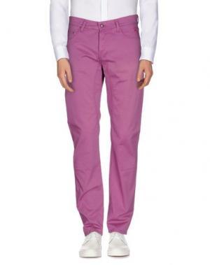 Повседневные брюки JAGGY. Цвет: пурпурный