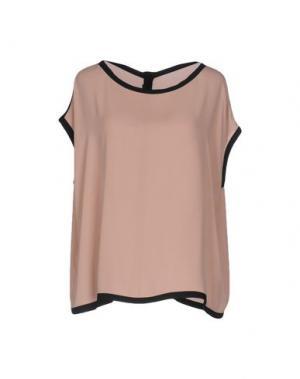Блузка TRY ME. Цвет: розовый