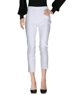 Повседневные брюки PF PAOLA FRANI. Цвет: белый